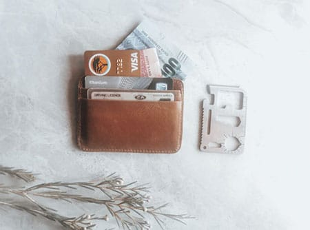 PN -Leather wallet